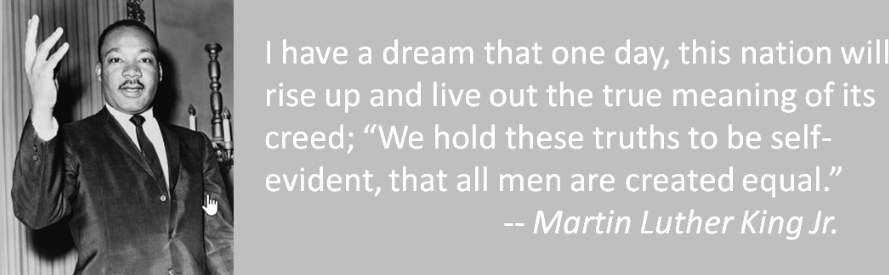 In the event of Martin Luther King Jr. Day, WINGS for Growth reminds everyone that daring to dream must continue!