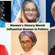 Women's History Month Influential Women in Politics